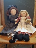 Sadie and Mollie dolls